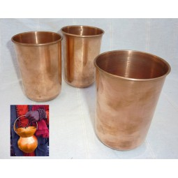 Ayurvedic copper glass