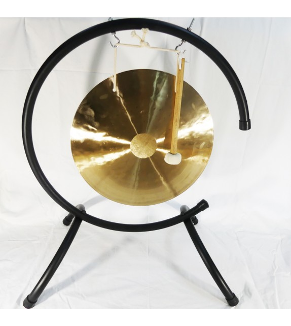 Wind Gong 40cm Note Fa Dièse + Support