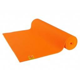 Tapis de yoga Confort Non toxique - 6mm - Orange